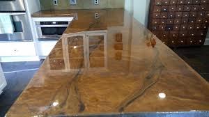 metallic countertop